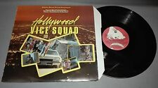 HOLLYWOOD VICE SQUAD- MOTION PICTURE -VINILO  - PORTADA VG +   /  DISCO VG ++