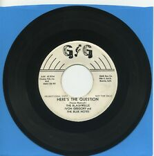 THE BLACKWELLS ~ Here's The Question ~ rockabilly/doo wop promo ~ G & G
