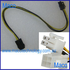 4 pin Female to 4 pin Male Motherboard EPS 12V CPU Power Extention Cable