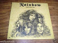 RAINBOW ~ LONG LIVE ROCK 'n' ROLL ~ POLYDOR  U.K. 1978 1st pressing ~ EX+
