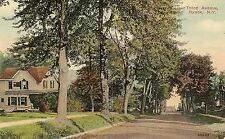 View on Third Avenue in Nyack NY Postcard 1919