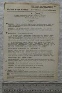 1970 sales particulars Pembroke Lodge, 3 Park Avenue, Roundhay, Leeds