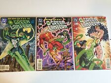 DC COMICS - GREEN LANTERN #71, 72, 73 COMPLETE STORY ARC 'HERO QUEST' - 1996
