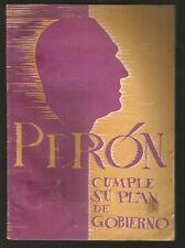 Book Juan Domingo Peron Cumple Su Plan De Gobierno 1948