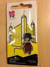 London 2012 Olympic Pin Badge - Mandeville Beefeater - New & Sealed