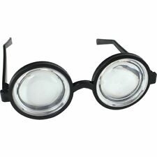 Nerd Glasses Specs Bug Eye Geek Magnify School Disco for Fancy Dress