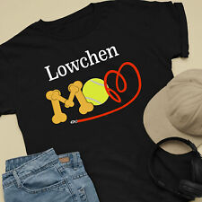 Lowchen Dog Mom and Dad Comfy Cute Dog Lover T-Shirt