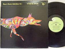 "THE FOX - For Fox Sake Vol.1 LP (RARE US Pressing on CREWE w/""die-cut"" Cover)"