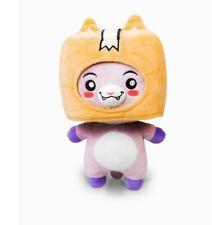LankyBox World Foxy & Boxy Plush Doll , Soft & Stuffed Toy For Kids Gift