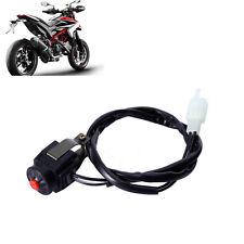 "7/8"" Kill Switch Horn Button Stop Handlebar For Motorcycle Motorbike Qua RAC"