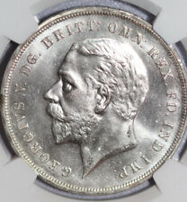 1935 Great Britain George V Crown NGC MS64 silver