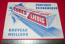 BUVARD BOUILLON CUBES LIEBIG CUISINE CONDIMENTS   1950-1960