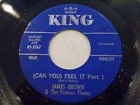 James Brown Get It Together Part I & II 45 1967 King Vinyl Record