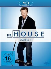 DR.HOUSE SEASON 1 Hugh Laurie, Lisa Edelstein 5 BLU-RAY NEU
