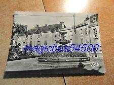CPA (CPSM) POSTCARD 88 VOSGES RAON L'ETAPE Fontaine Monumentale vers 1960