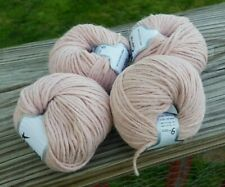 Four Skeins Ice Etno Alpaca Merino Wool/Alpaca Yarn In Blush Pink