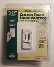 Allfan  3 Speed Ceiling Fan & Light Control Switch