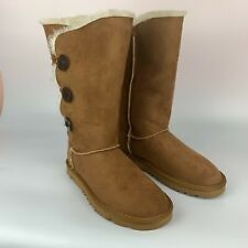 woman shoes boots NGY brown, size 7