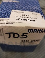 Discovery & Defender TD5 - LPX100590 Mahle Oil Filter Land Rover