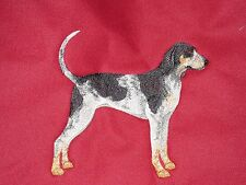 Embroidered Long-Sleeved T-shirt - Bluetick Coonhound C9622 Sizes S - Xxl