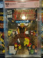 Infinity Crusade 1, CBCS 9.0 SS, signed by Ron Lim, (1993)