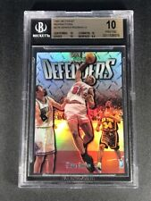DENNIS RODMAN 1997 TOPPS FINEST #275 DEFENDERS SILVER REFRACTOR /1090 BGS 10 1/1