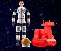 Vintage 1967 Mattel Major Matt Mason White Rubber Astronaut Action Figure Rare
