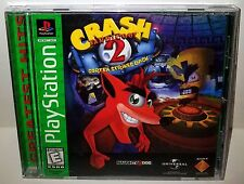 Crash Bandicoot 2:Cortex Strikes Back Greatest Hits Playstation 1(Ps1)Video Game