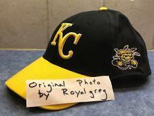 Kansas City Royals Wichita State Shockers WSU Night Hat, SGA 9/5/15 Black/Gold