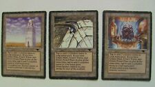 mtg Antiquities Edition Three-card set Urza's Mine, Tower & Power Plant
