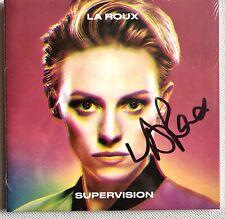 LA ROUX - SUPERVISION  HAND SIGNED GATEFOLD 8 TRK CD * SEALED AUTOGRAPHED