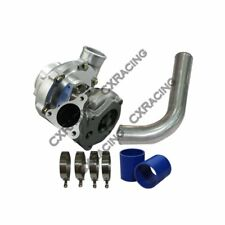 "T66 Turbo Charger + 2.5"" 90 Deg Pipe For Buick Grand National GNX T-Type Bolt..."