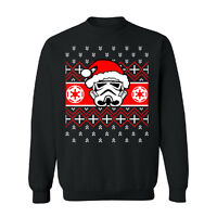 Santa Darth Vader Star Wars Unisex Crewneck Christmas Ugly Sweater Sweatshirt