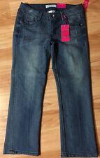 Candies Crop Jeans Sz 5 Juniors. New With Tags , Distressed