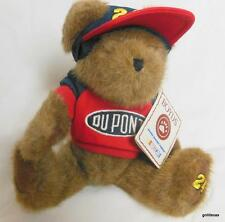 """Boyds Bears Nascar 10"""" Jeff Gordon  # 24 With Cap and Sweatshirt and Tag"""