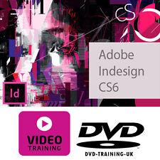 Adobe InDesign CS6 -- video professionale formazione esercitazione DVD