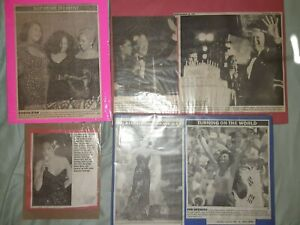 """""""DIANA ROSS"""" EVENTS OF PERFORMANCES & AWARD WINNING CLIPPINGS COLLECTION"""