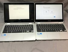 Lot of 2 ASUS Chromebook C302C Flip Intel Core M3-6Y30 4GB Chrome OS