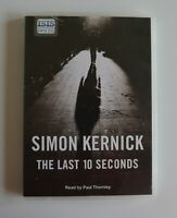The Last 10 Seconds - by Simon Kernick - MP3CD - Audiobook