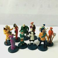 10pcs Clue Game Suspects Pieces Tokens Movers Characters Action Figures Kid Toys