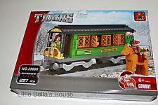 Ausini TRAINS Set#25606 Building Block Toy 257pcs city,horse,car(lego compatible