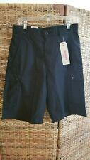 Levi's Snap Cargo Shorts  NWT $56 Black  SZ 30