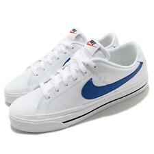 Nike Court Legacy Blanco JUEGO REAL AZUL Calzado Tenis Informales Para hombres CU4150-101