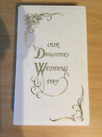 VHS Cassette Box Our Daughters Wedding Day Video Case Keepsake