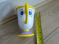 The Disney Store   Plastic Chip Tea Cup   Official Beauty & the Beast
