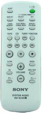 * Nuevo * Original Sony Control remoto para cmtcpz 1 CMT-CPZ1