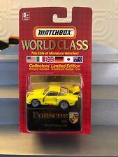 Matchbox 1990 World Class #22 Porsche 935