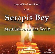 SERAPIS BEY - Meditationen der Seele - Ines Witte-Henriksen CD - NEU OVP