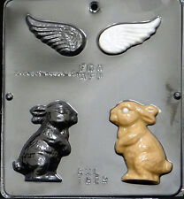 Angel Bunny Assembly Chocolate Candy Mold Easter  1829 NEW