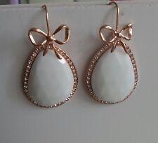 Orecchini donna argento boucles d'oreilles argent calcedonia calcédoine sintetic